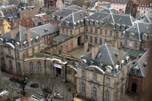 Правее Парижа Страсбург - город прекрасного отдыха